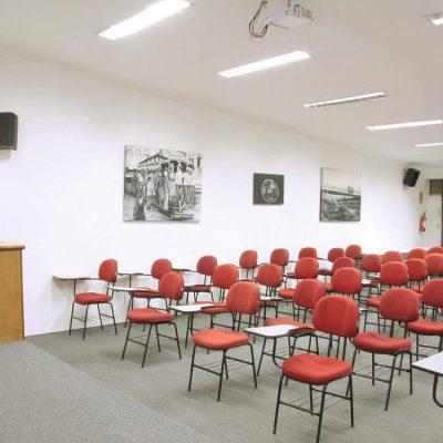 Salas de aulas como espaço para evento IPESSP